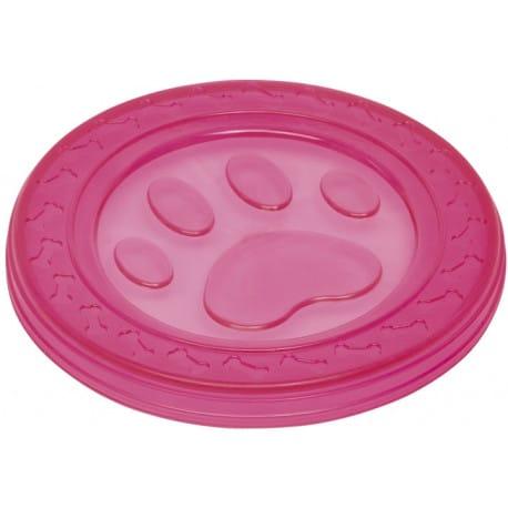 Nobby hračka pre psov termoplastická guma frisbee ružo