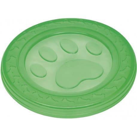 Nobby hračka pro psy termoplastická guma frisbee zele