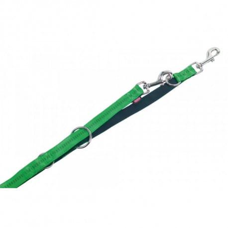 Nobby SOFT GRIP vodítko přepínací 200cm / 20mm zelená