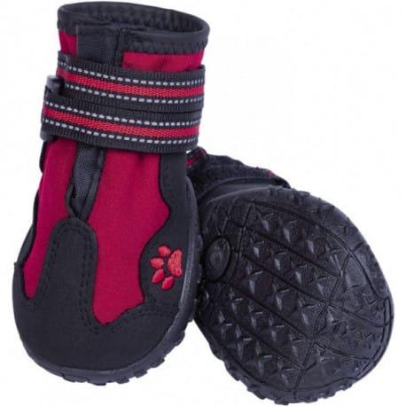Nobby RUNNERS ochranné topánky pre psov L 2ks červená