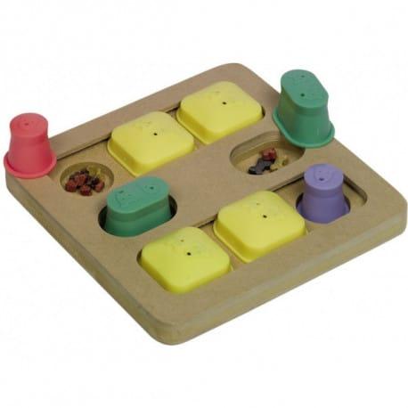 Nobby BrainBoard Quadro interaktivní hračka 25x25cm