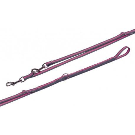 Nobby variado vodítko s amortizérom XS-S 210-240cm ružová