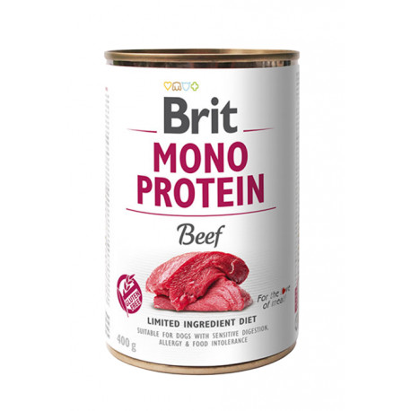 Brit Dog konz Mono Protein Beef 400g