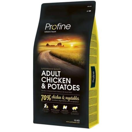 Profine NEW Dog Adult Chicken & Potatoes 15 kg