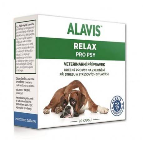 Alavis Relax pre psov 150mg 20cps