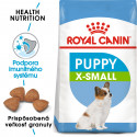 Royal Canin X-Small Puppy granule pre trpaslíčie šteňatá 500g