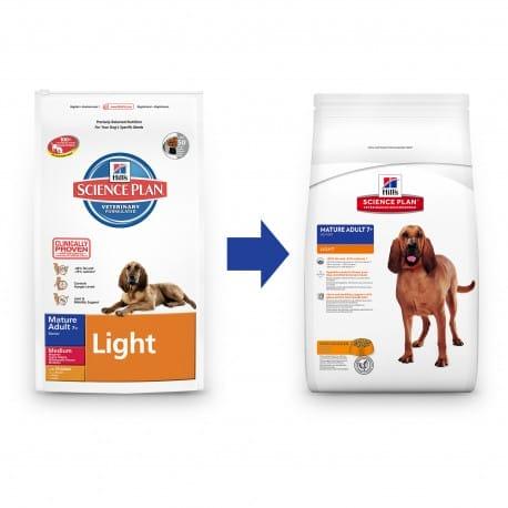 Hill's Canine Dry Senior Light 12kg