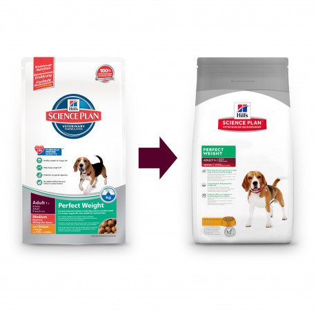 Hill's Canine  Dry Adult Perfect Weight Medium 10kg