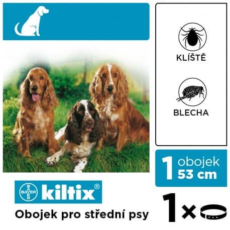 Kiltix 53 obojek (střední pes) 1ks