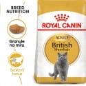 Royal Canin British Shorthair Adult granule pre britské krátkosrsté mačky 400g