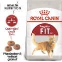 Royal Canin Fit granule pre správnu kondíciu mačiek 2kg