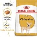 Royal Canin Chihuahua Adult granule pre dospelú čivavu 500g