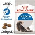 Royal Canin Indoor Longhair granule pre mačky žijúce vo vnútri a zdravú srsť 2kg