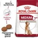 Royal Canin Medium Adult 7+ granule pre dospelých starnúce stredné psy 4kg