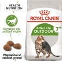 Royal Canin Outdoor 7+ granule pre starnúcu mačky s častým pohybom vonku 400g
