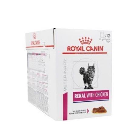 Royal Canin VD Feline Renal  12x85g kuře kapsa