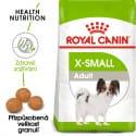 Royal Canin X-Small Adult granule pre dospelých trpasličie psy 500g