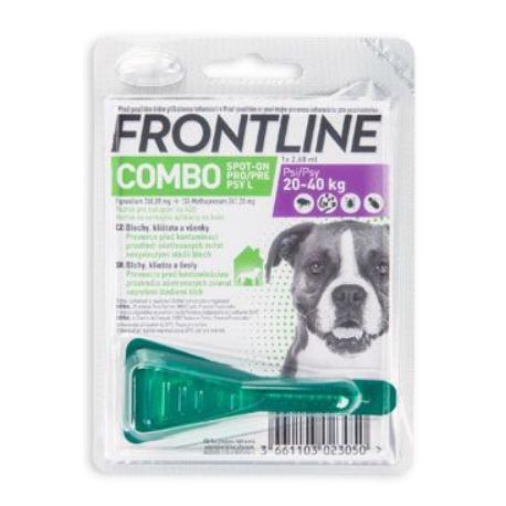 Frontline Combo Spot-on Dog L sol 1x2,68ml