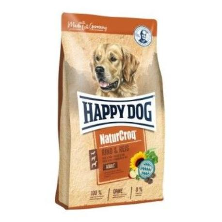 Happy Dog Natur Croq Rind & Rice 15kg