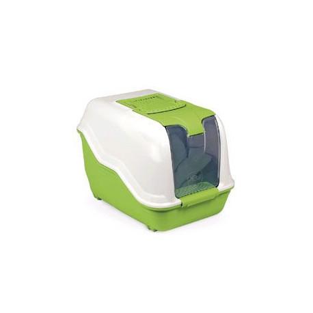 WC mačka netto kryté s filtrom zelená 53x39x40cm