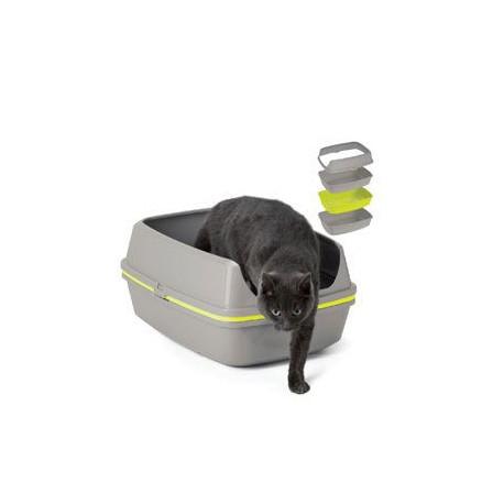 WC mačka Lift to sift s roštom Jumbo 57x43x27cm