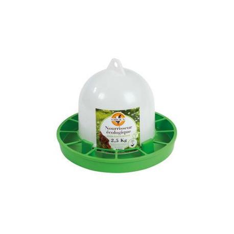 Kŕmidlo pre sliepky s násypkou Eko plast 2,5kg