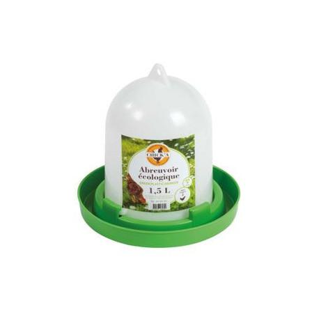 Žľab pitný pre sliepky Eko plast 1,5l