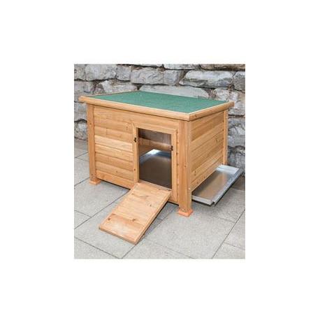 Kurník Duck Town pre sliepky, husi a kačice 93x73x67cm