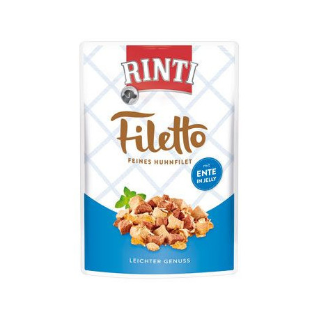 Rinti Dog Filetto kapsa kuře+kachna v želé 100g
