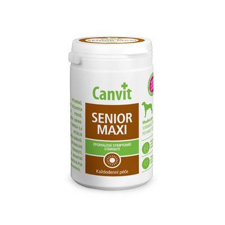 Canvit Senior MAXI pre psov ochutený 230g