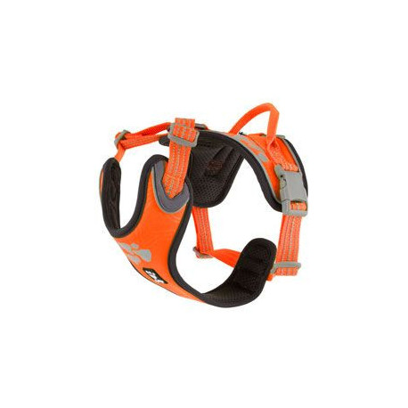 Postroj Hurtta Weekend Warrior neon oranžový 45-60cm