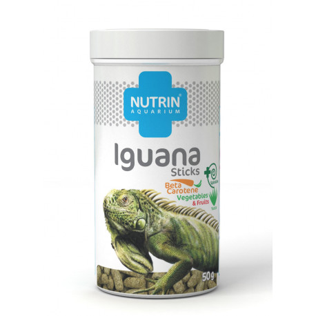 Nutrin Aquarium Iguana Sticks 50g (250ml)