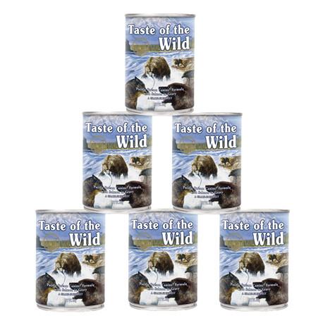 Taste of the Wild Konz. Pacific Stream Dog 6x390g