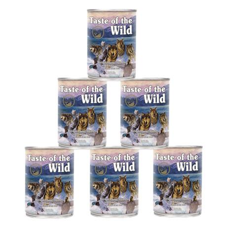 Taste of the Wild konz. Wetlands Wild Fowl Dog 6x390g