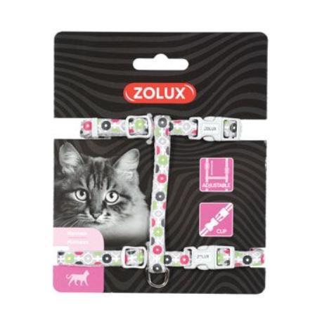 Postroj kočka ARROW nylon šedý Zolux