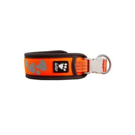 Obojek Hurtta Weekend Warrior neon oranžový 35-45cm