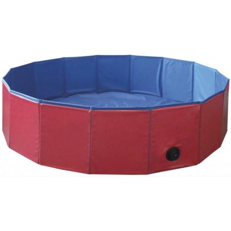 Nobby bazén pro psa skládací červený S 80x20cm
