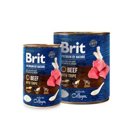 Brit Premium Dog by Nature  konz Beef & Tripes 400g