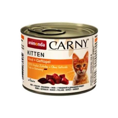 Animonda Carny Kitten konz. drůbeží 200g