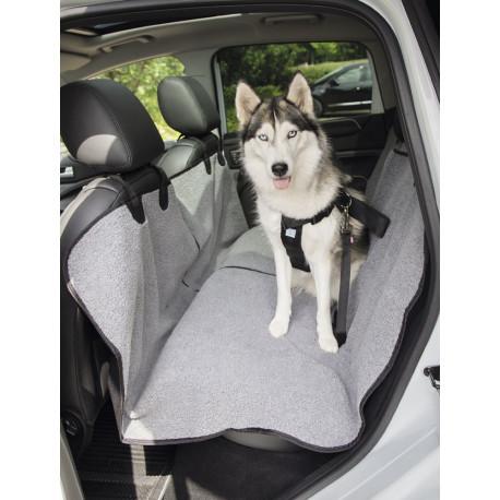Nobby ochranný poťah na zadné sedačky auta sivý 145x160cm