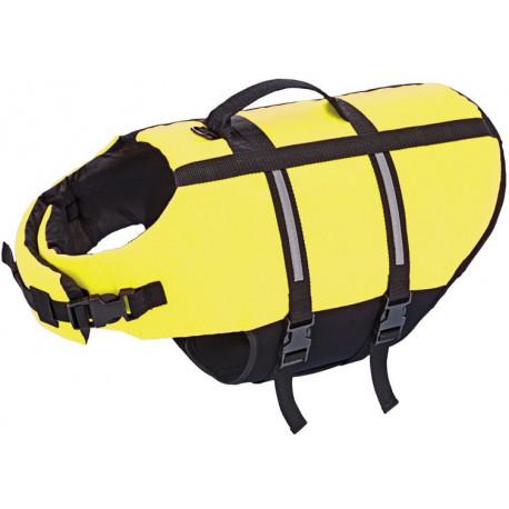 Nobby Elen záchranná plávacia vesta pre psa neon žltá XL-45cm