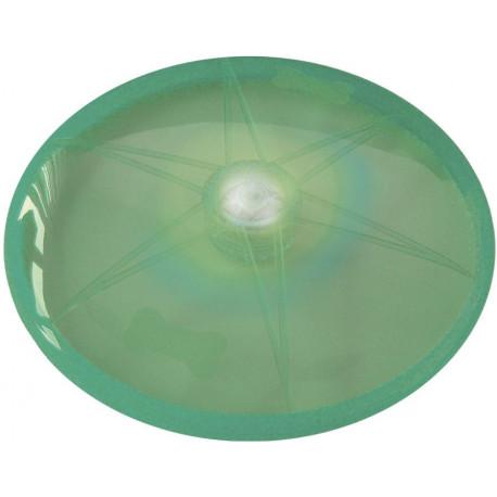 Nobby LED blikajúce frisbee pre psov zelené 15 cm