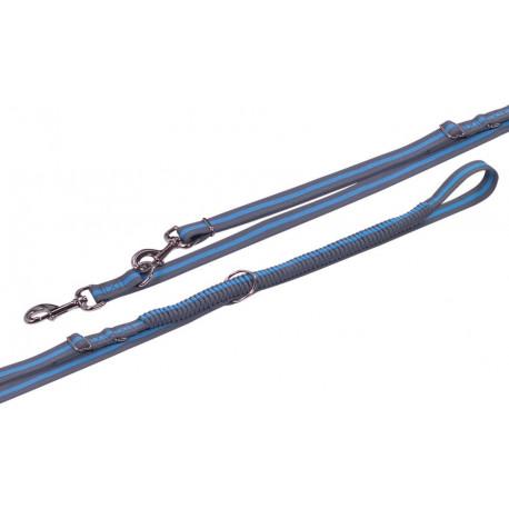 Nobby variado vodítko s amortizérom ML 210-240cm modrá