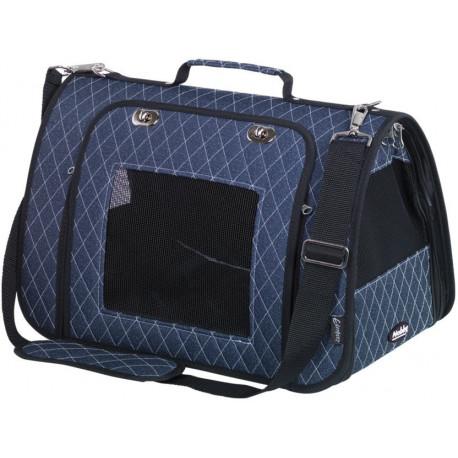 Nobby prepravná taška KALINA do 7kg modrá 44 x 25 x 27 cm