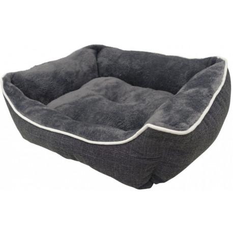 Nobby Classic obdĺžnikový pelech Arno šedá 62x50x17cm