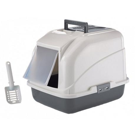 Nobby Rex kočičí toaleta 50x40x40cm šedá
