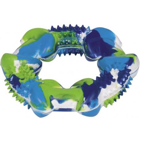 Nobby silná gumová hračka kruh farebný 12cm
