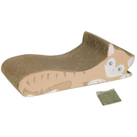 Nobby kartonové škrabadlo pro kočky 50x21x15cm