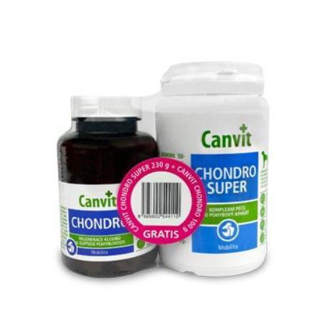 Canvit Chondro Super ochucené 230g + 100g Chondro pack