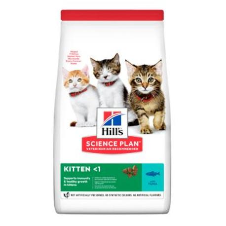 Hill's Fel. Dry Kitten Tuna 1,5kg